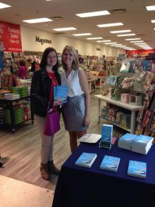 Book Signing at Coles Bookstore in Burlington